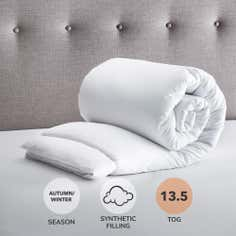 Fogarty Anti Allergy 13.5 Tog Duvet