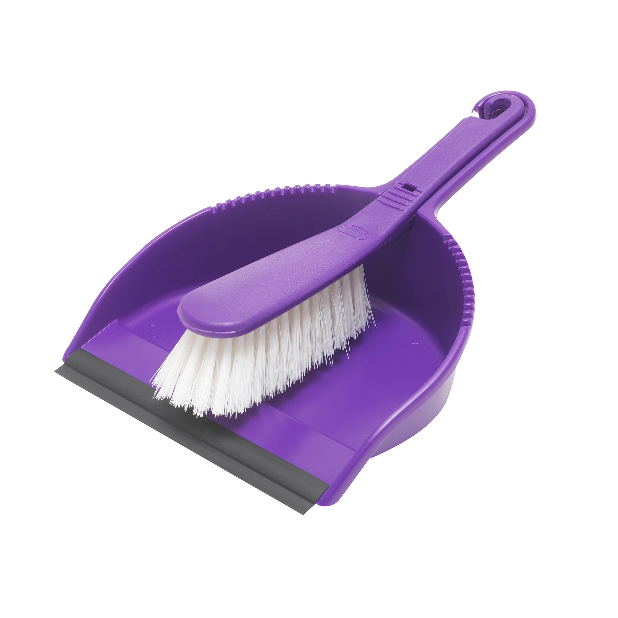 Purple Spectrum Collection Dustpan and Brush