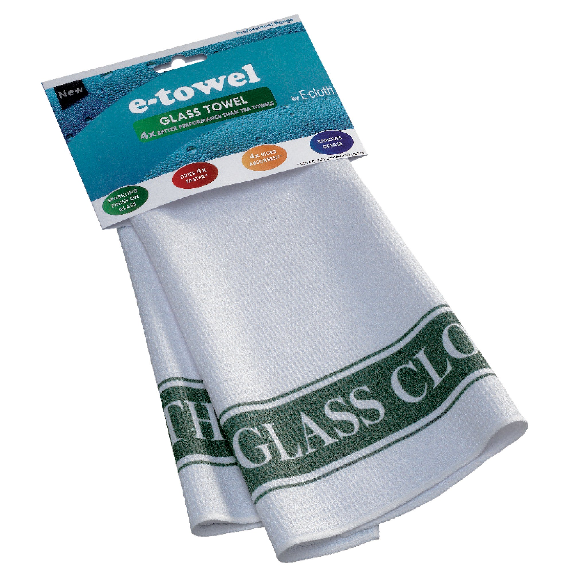 E-Cloth Glass E-Towel