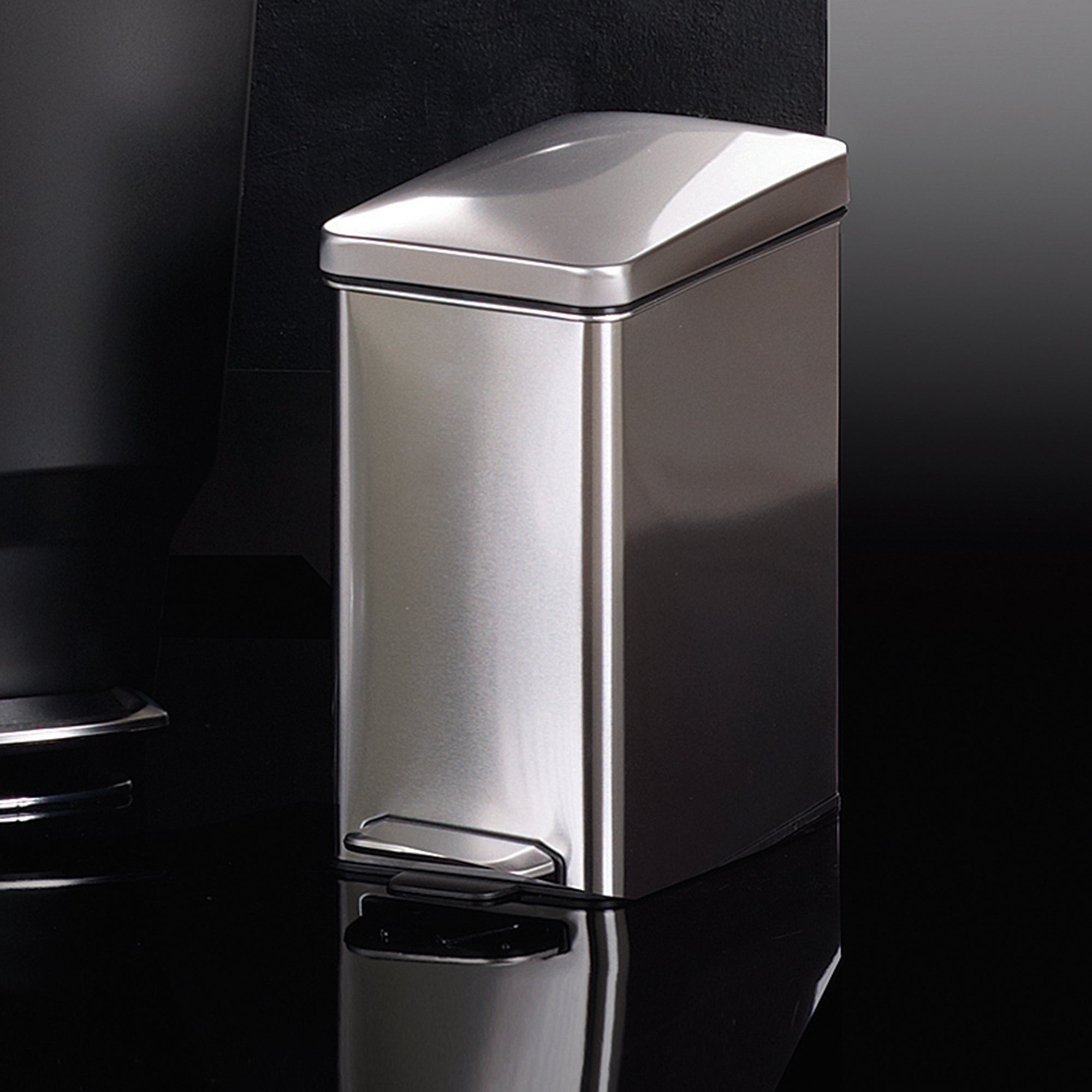 simplehuman 10 Litre Profile Stainless Steel Pedal Bin