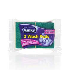 Minky Pack of 2 Heavy Duty Wash Pads
