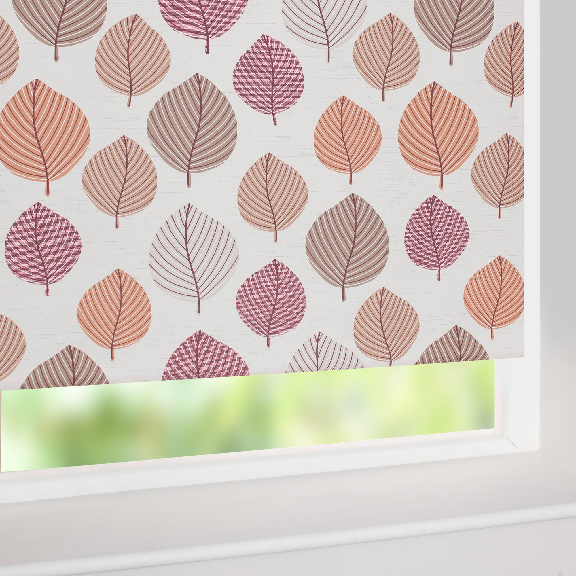 Terracotta Regan Blackout Roller Blind