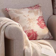Red Rosa Collection Filled Cushion