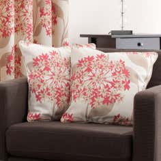Red Darcy Collection Cushion