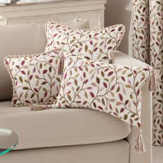 Heritage Damson Glava Collection Filled Cushion