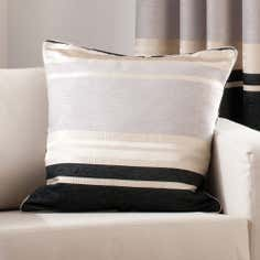 Black Portobello Collection Cushion