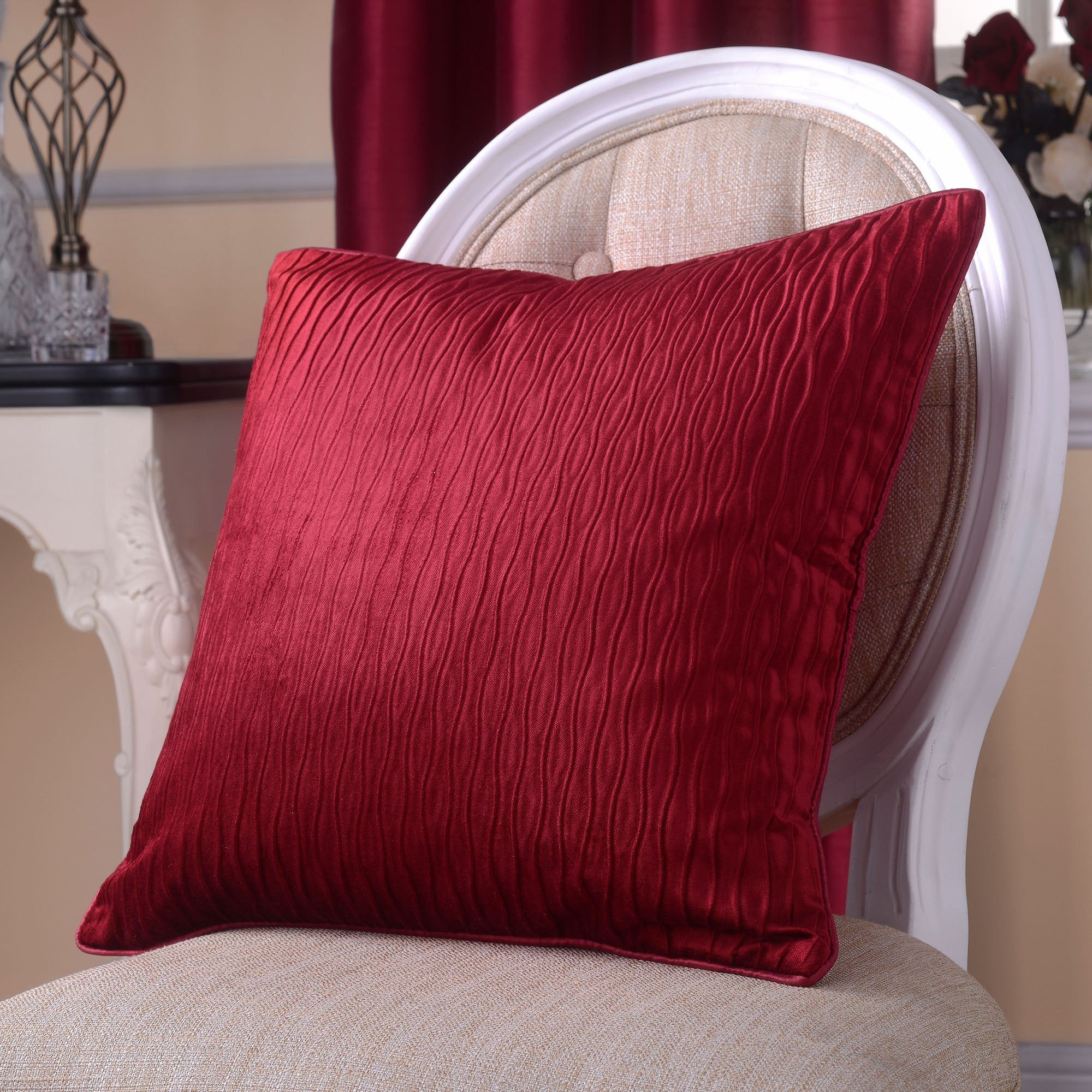 Red Opulence Collection Cushion