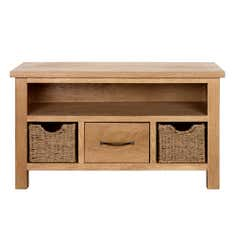 Sidmouth Small Oak TV Unit
