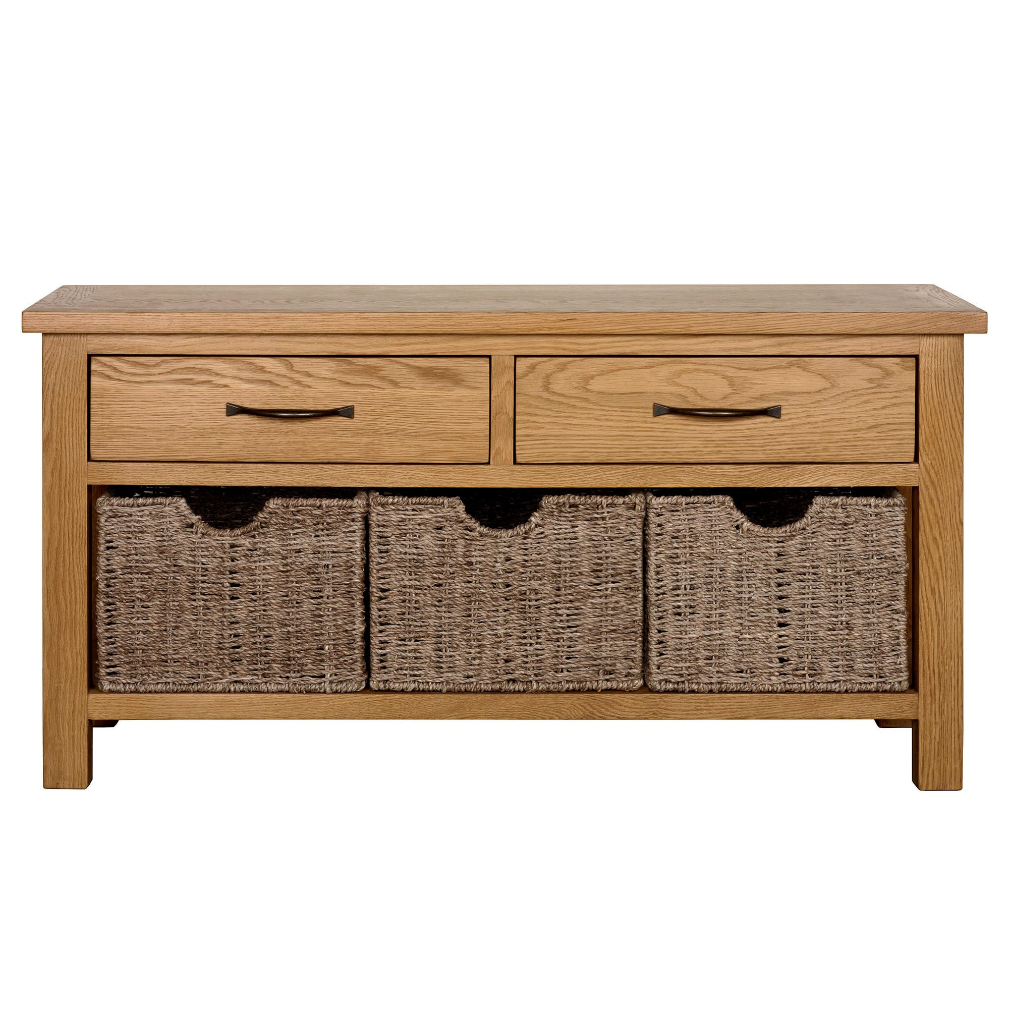 Sidmouth Oak Storage Bench