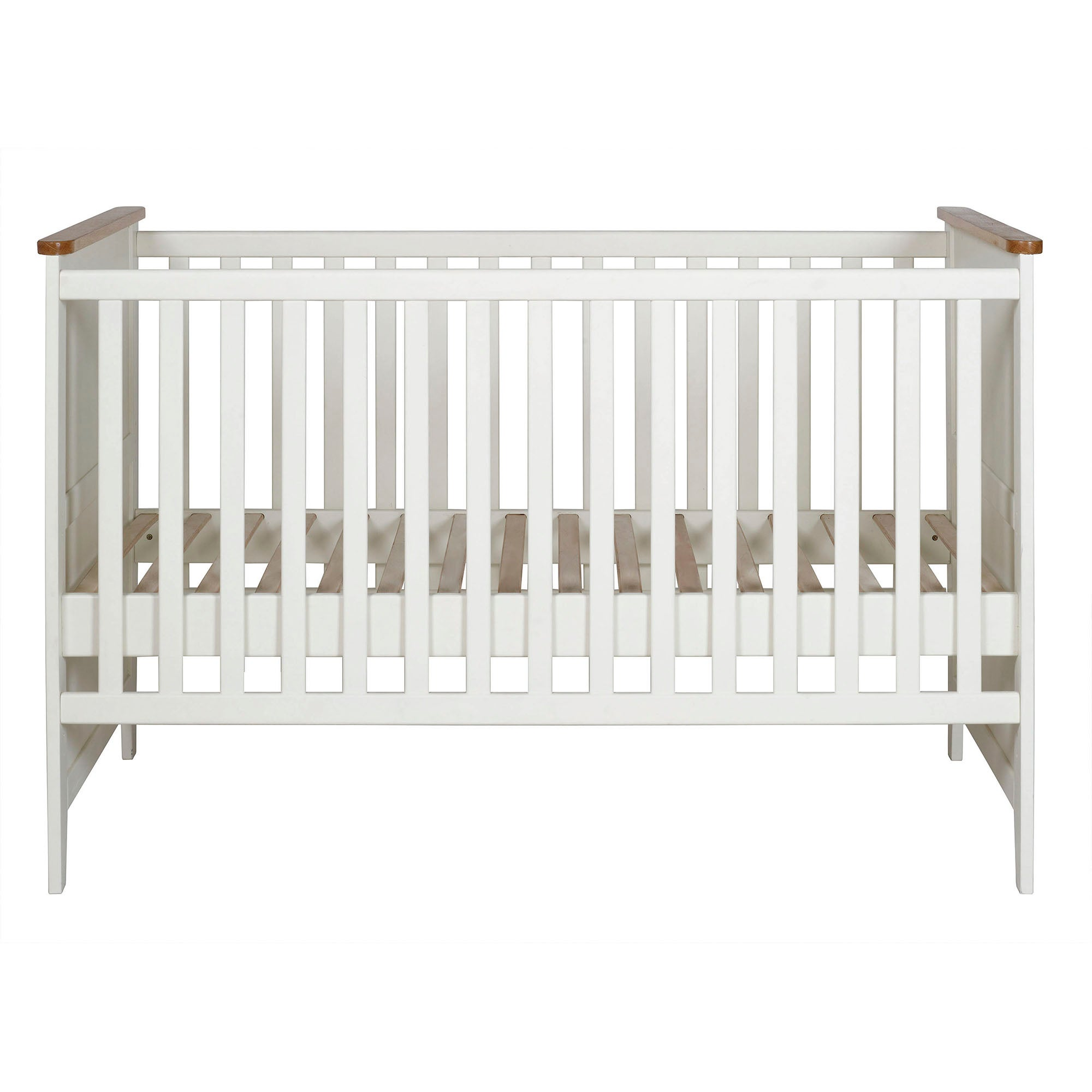 Morgan Oak Nursery Cot Bed