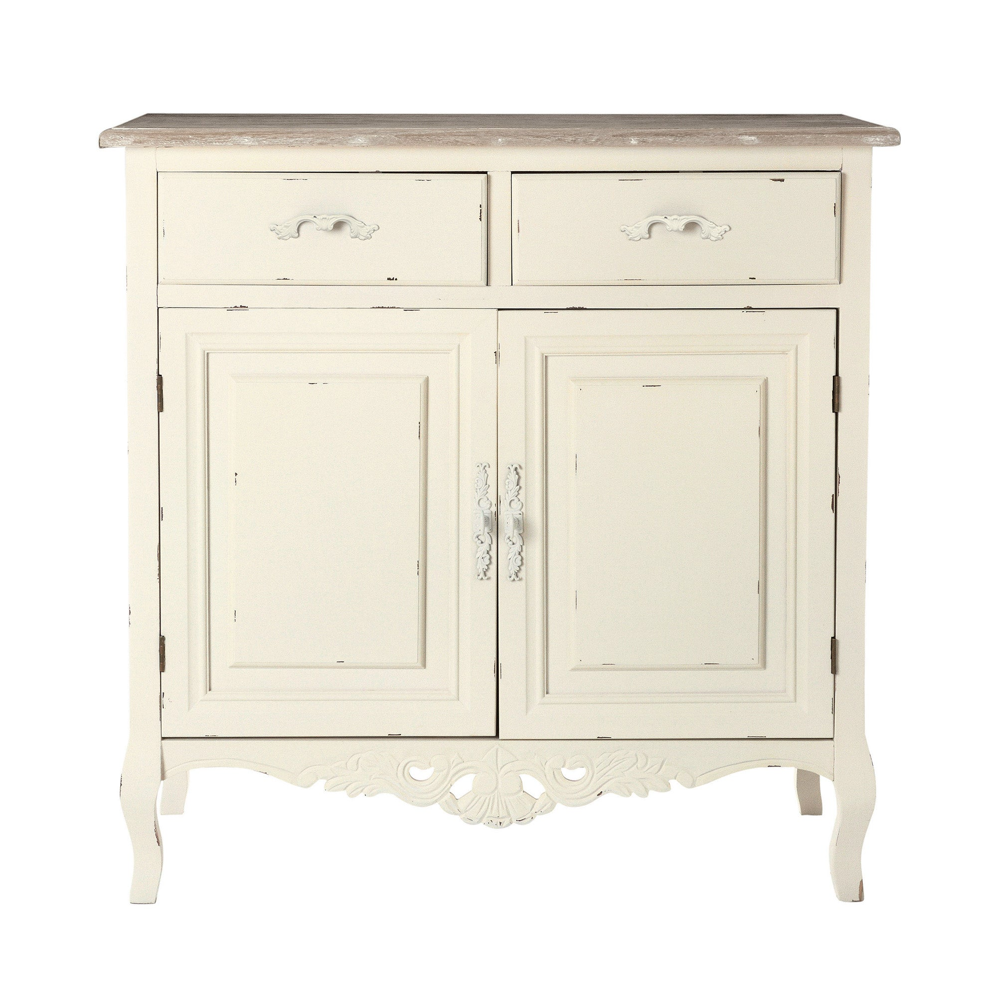 Camille White Small Sideboard