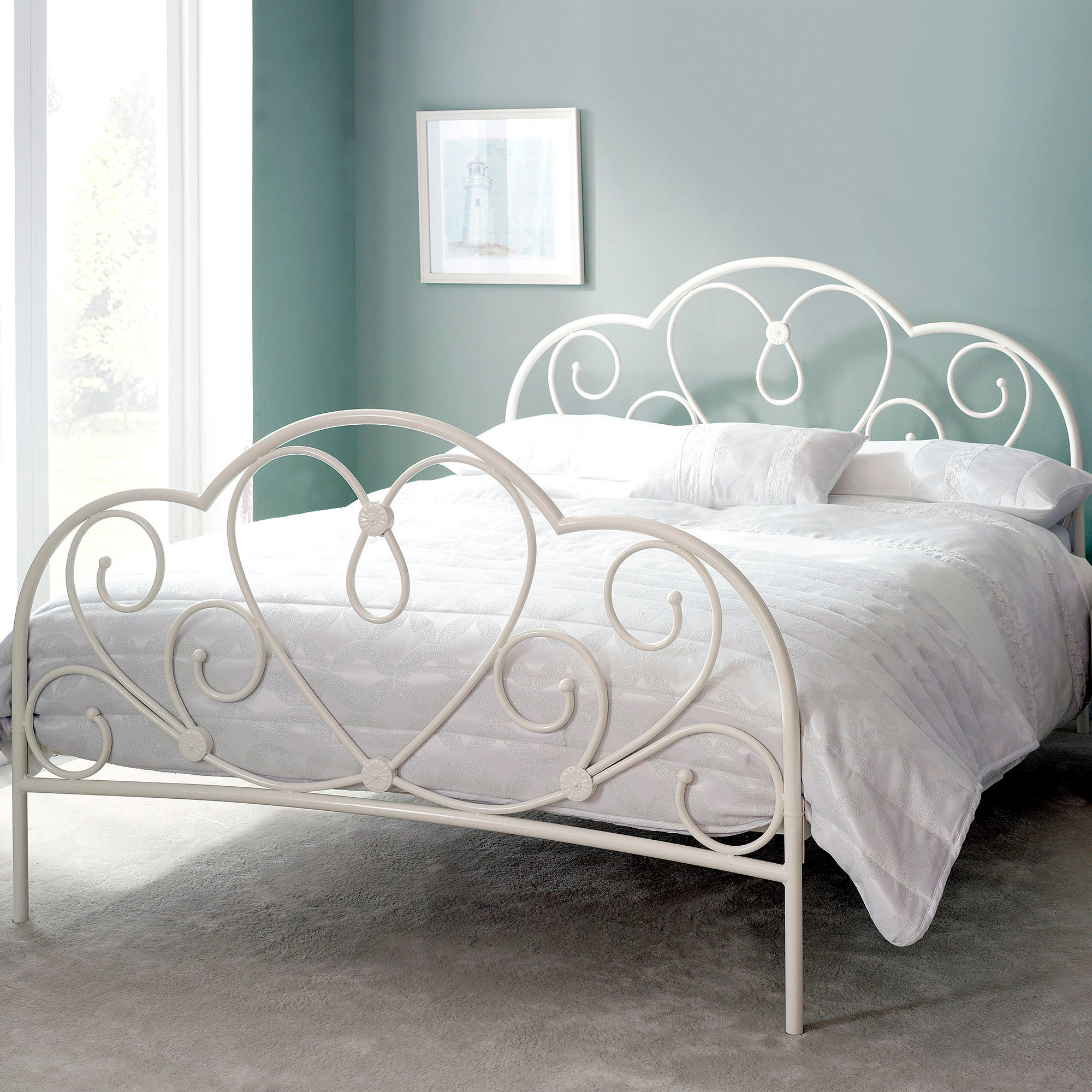Amy Ivory Double Bedstead