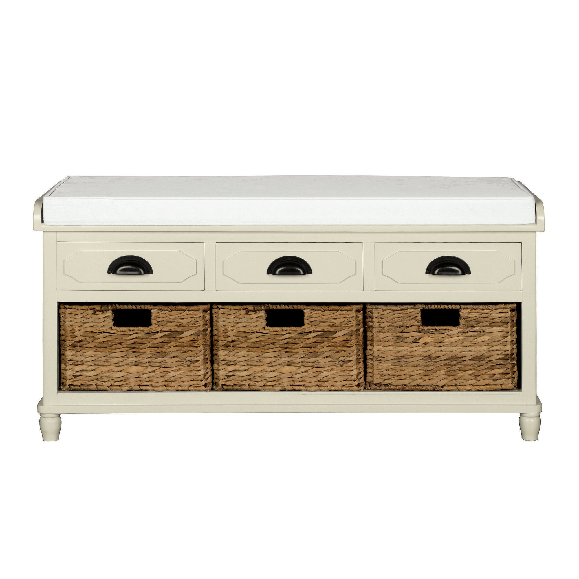 Devon Cream Storage Bench