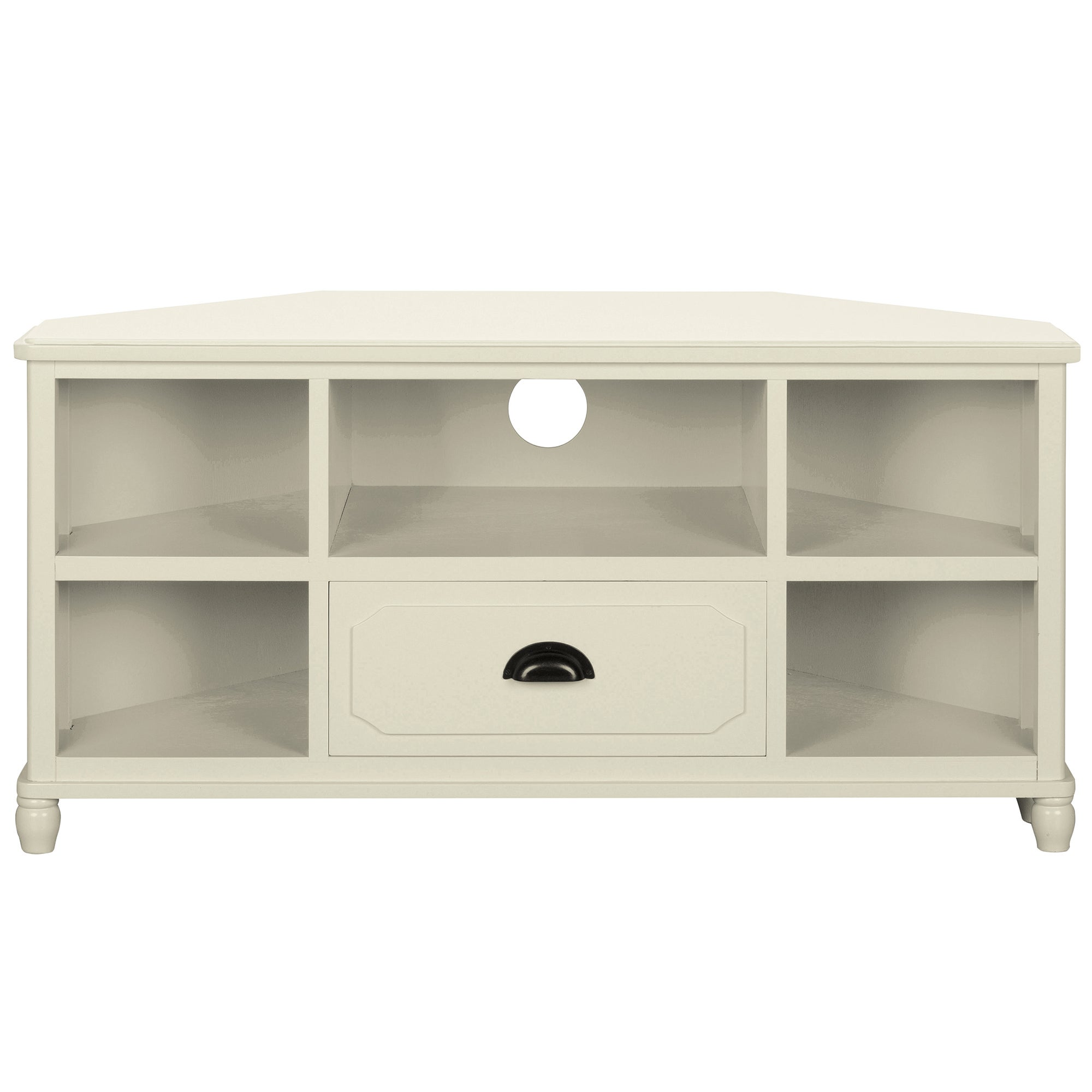 Devon Cream Corner TV Unit