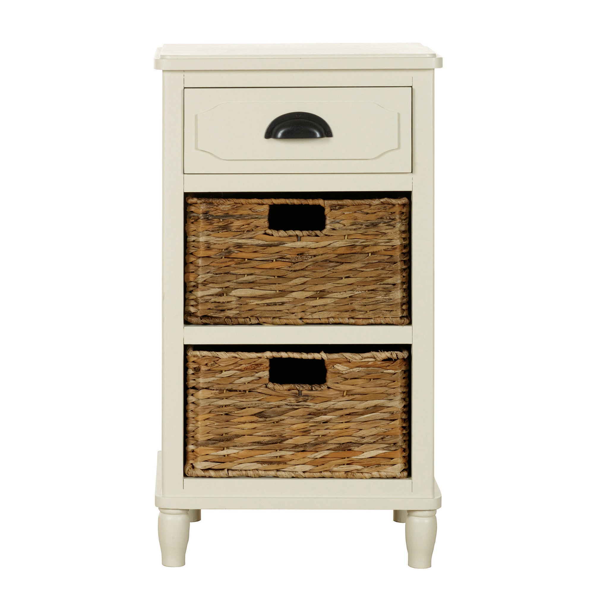Devon Cream Bedside Table