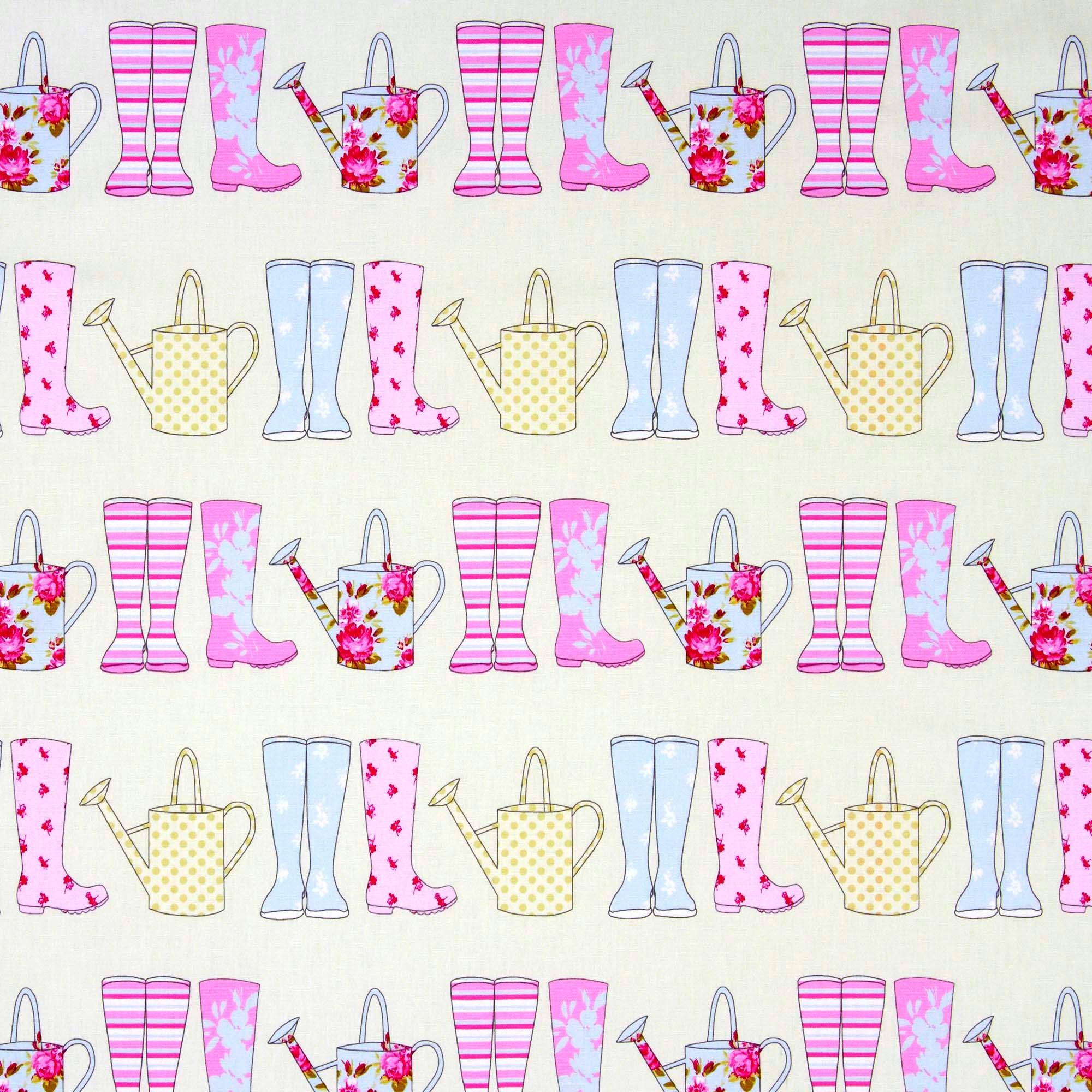 Pink Sorbet Elsie Fabric
