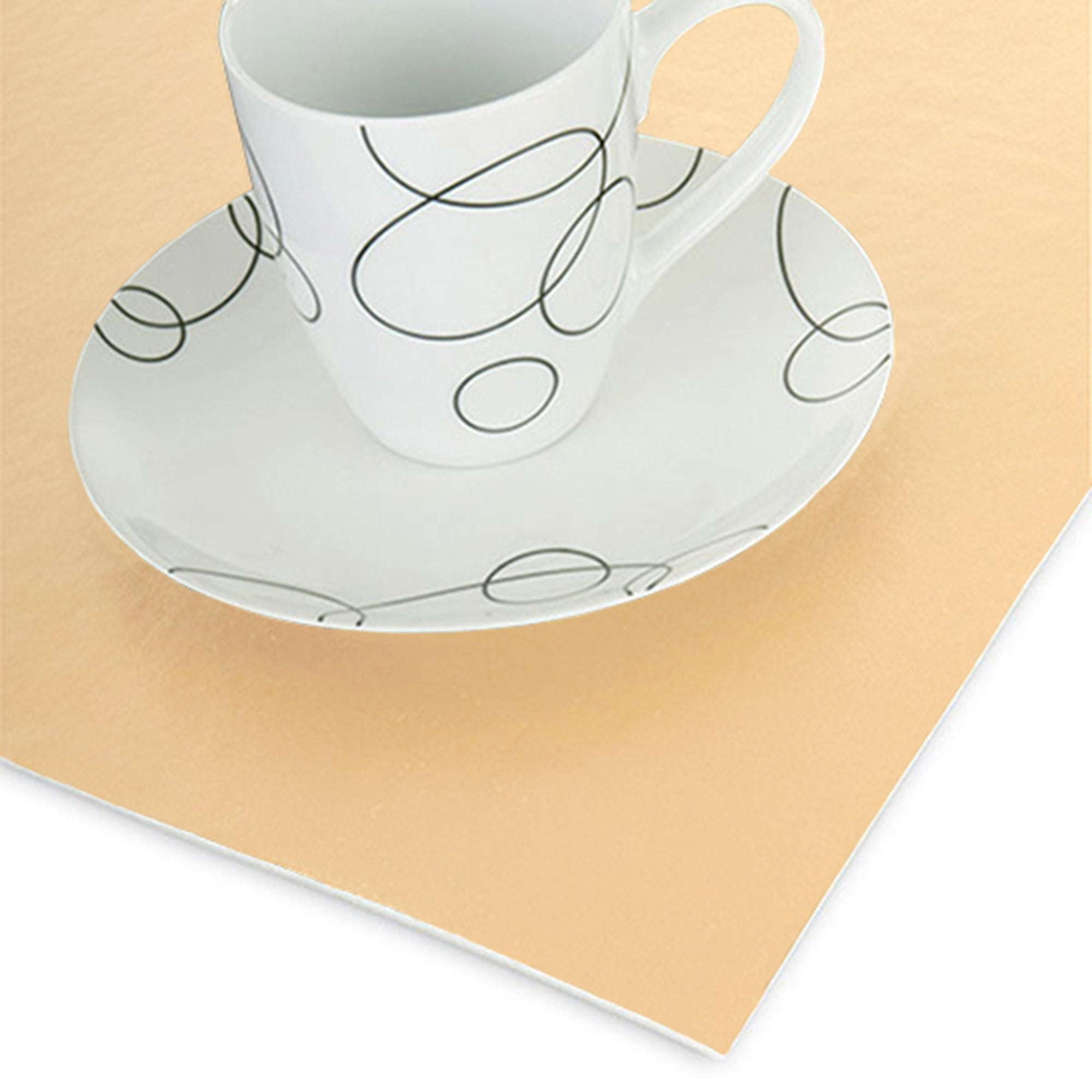 Cream Luxury Felt Table Protector
