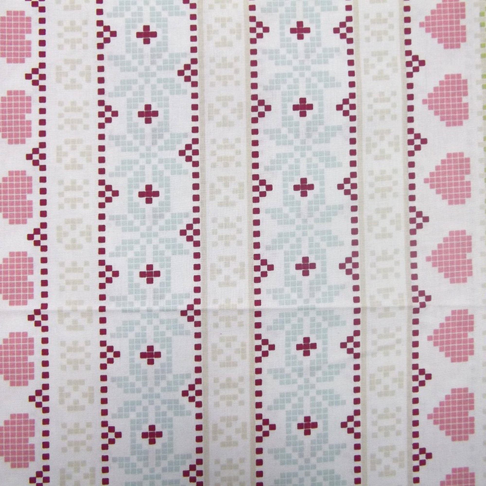 Chintz Fair Isle PVC Fabric