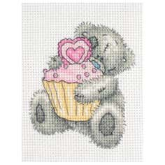 Anchor Me To You Cupcake Cross Stitch Kit