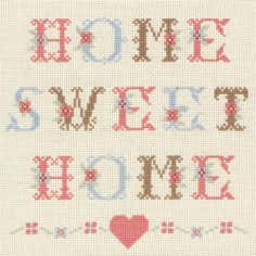 Anchor Home Sweet Home Cross Stitch Kit