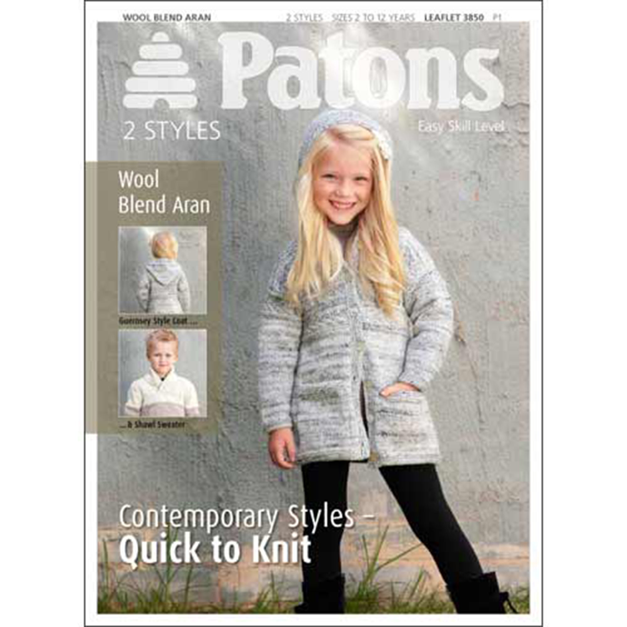 Patons Cardigan Leaflet