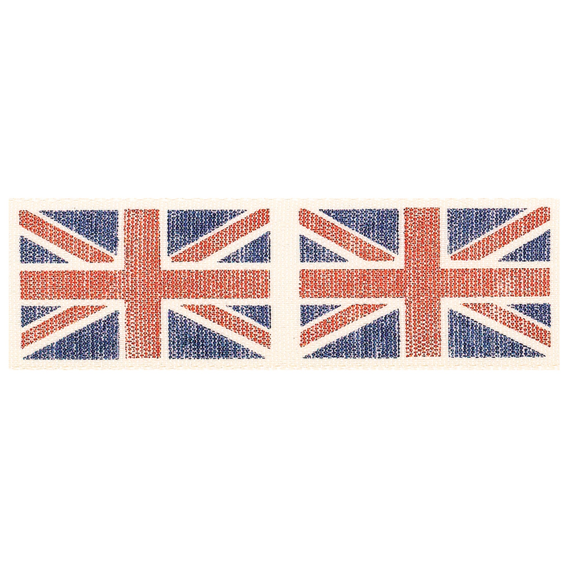 Vintage Union Jack Flag Ribbon
