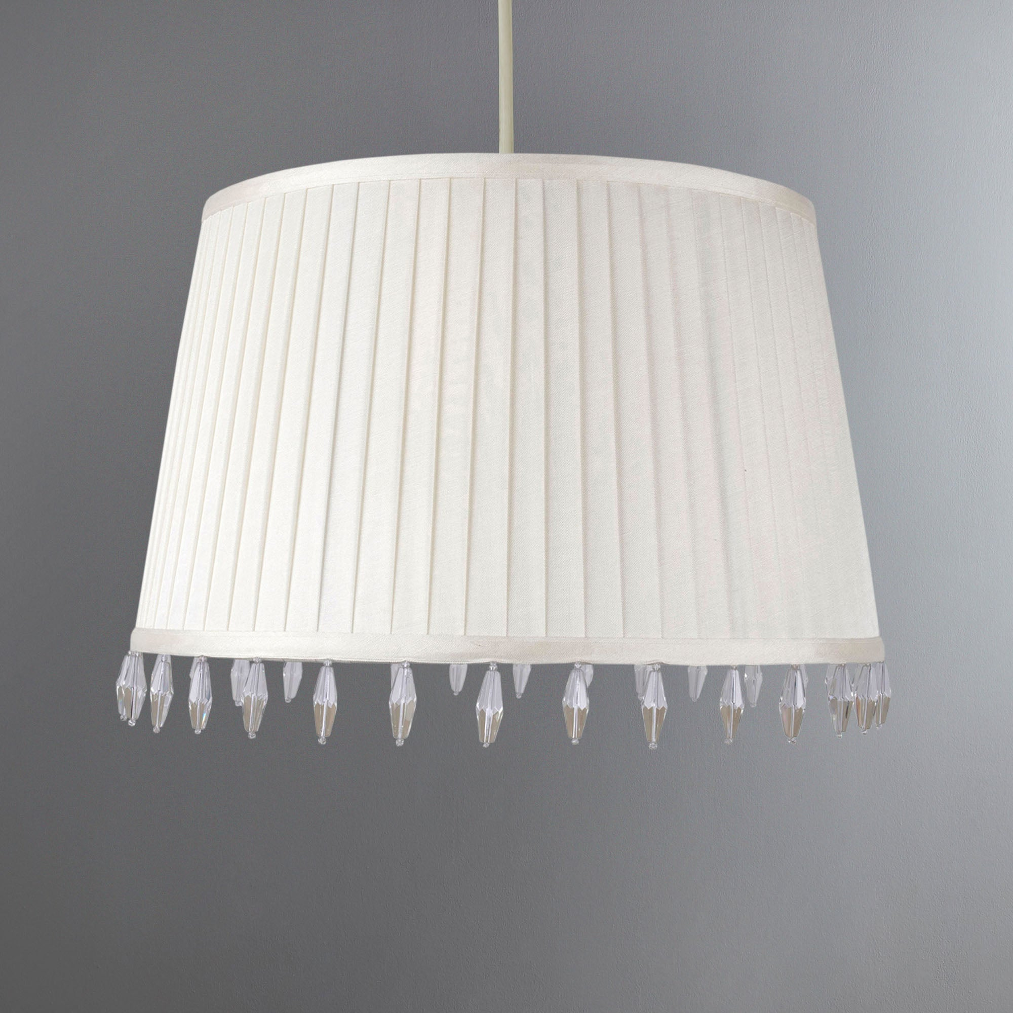 Mini Crystal Pleat Light Shade