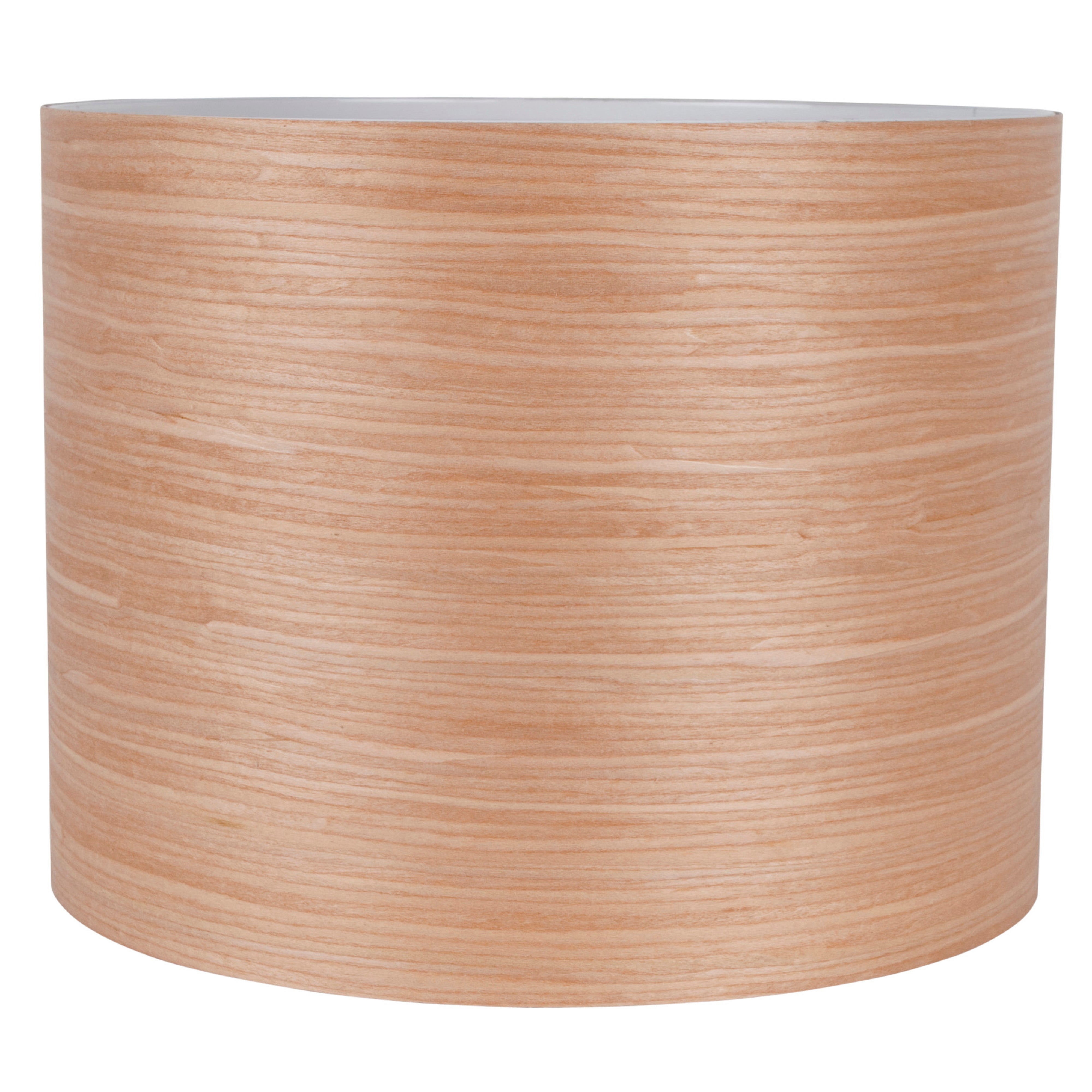 Wood Veneer Cylinder Light Shade