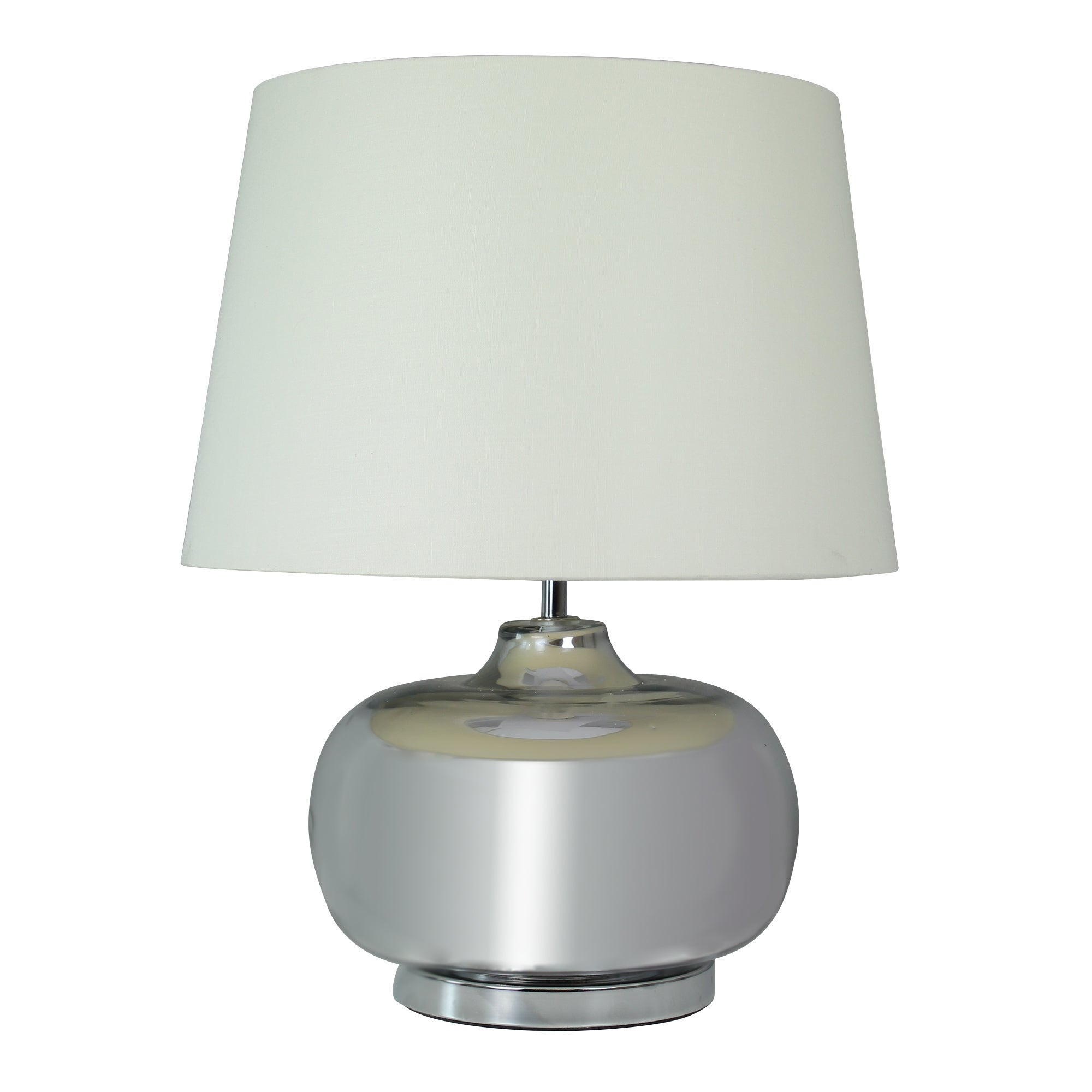 Quinn Plated Glass Table Lamp