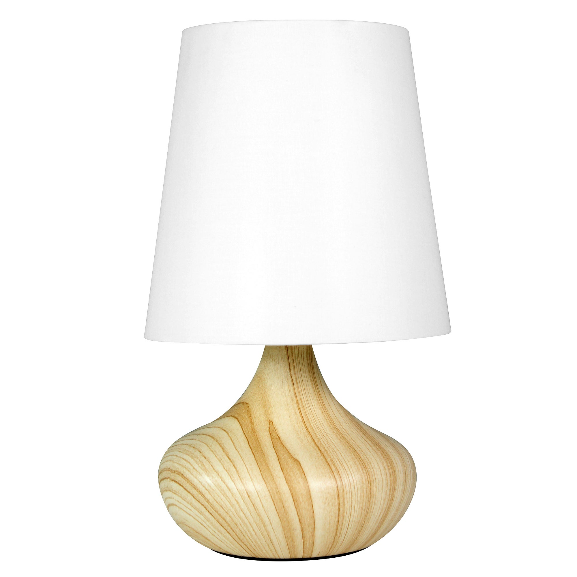 Wood Effect Table Lamp