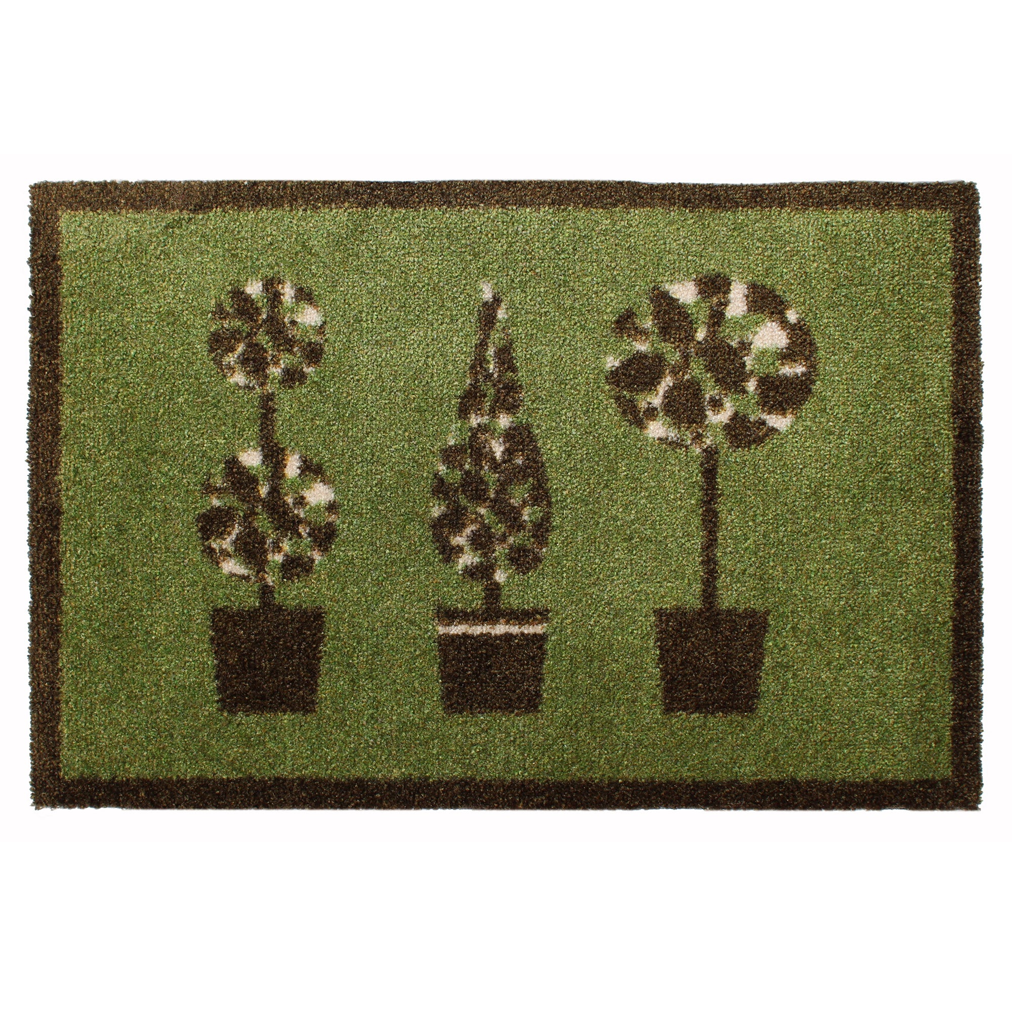 Eco Printed Trees Doormat