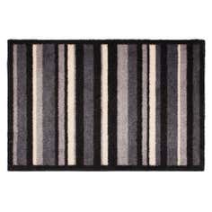 Eco Grey Stripe Printed Doormat