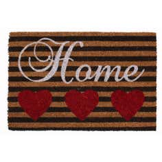 Home Hearts Coir Doormat
