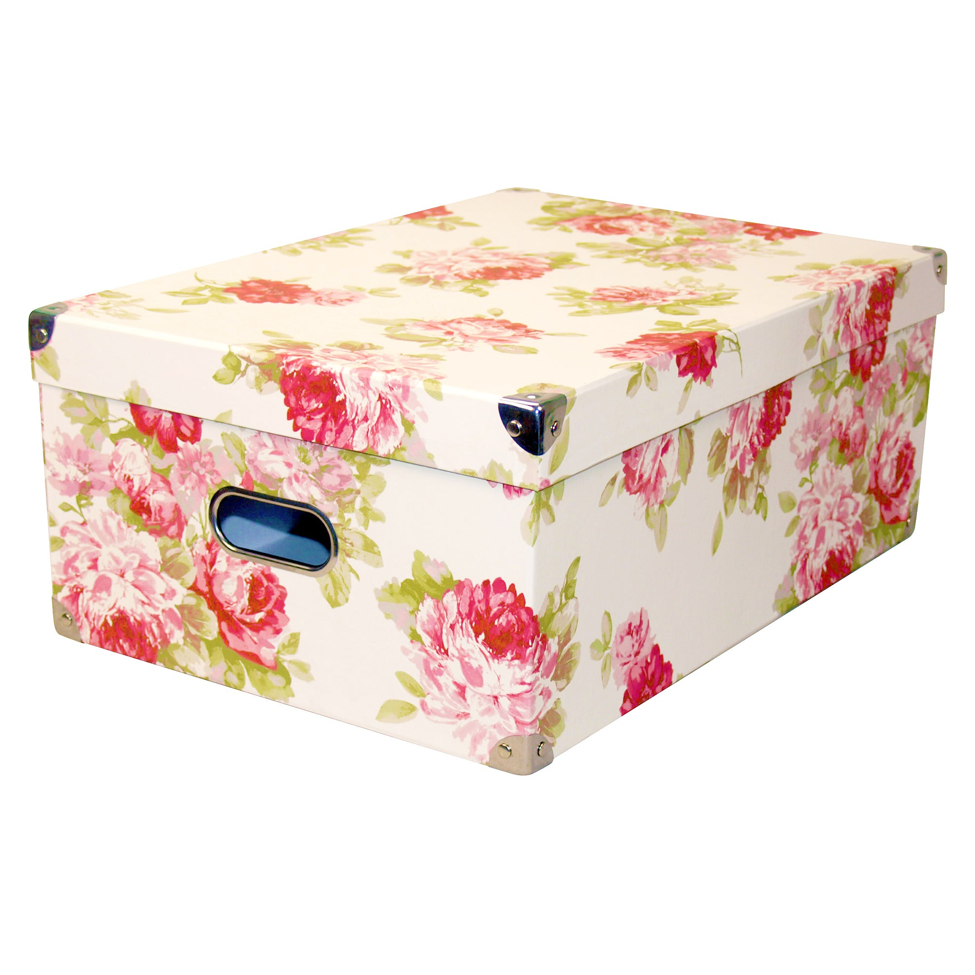 Pink Floral Bella Storage Box