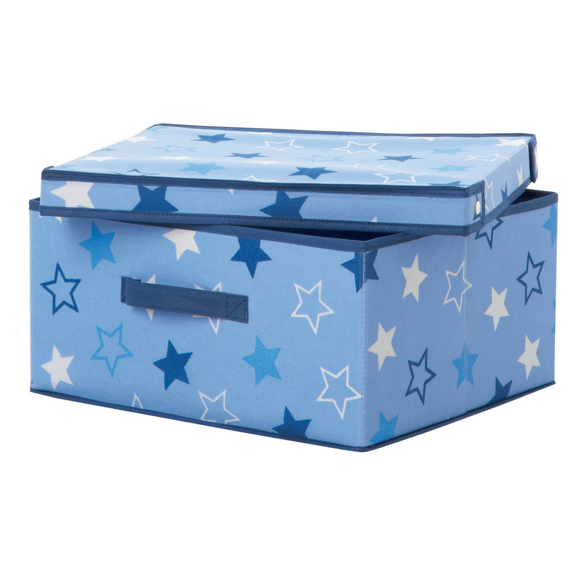 Blue Stars Storage Box with Lid