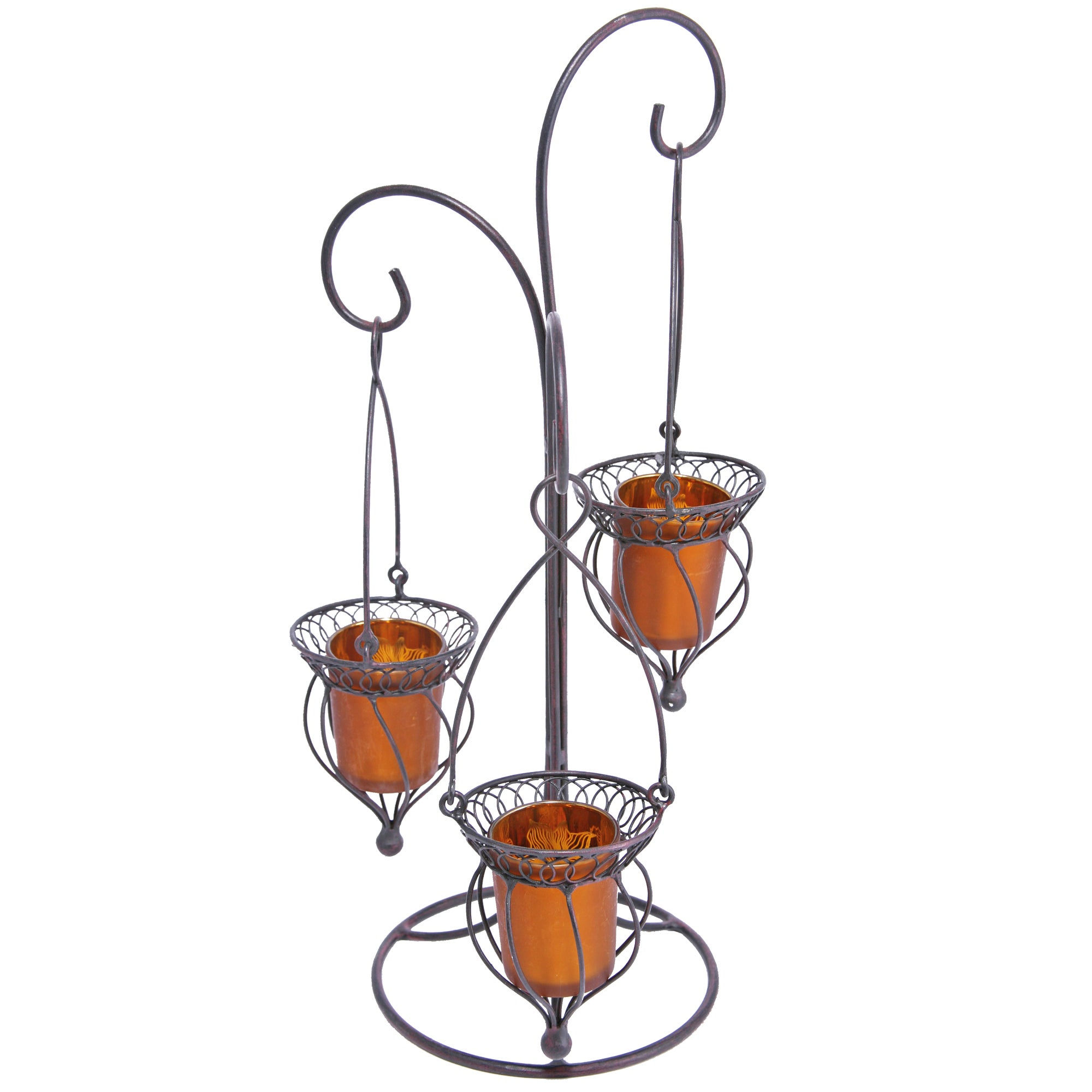 Global Fusion Collection Hanging Votive Candle Holder