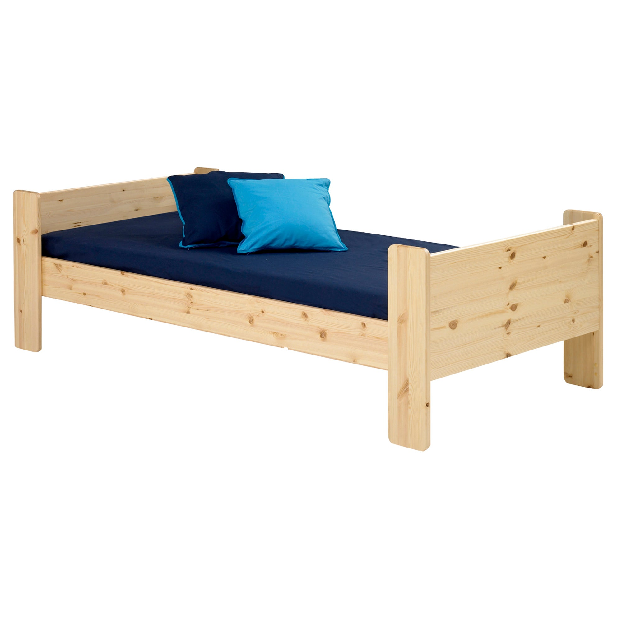 Kids Harper Pine Single Bed Frame