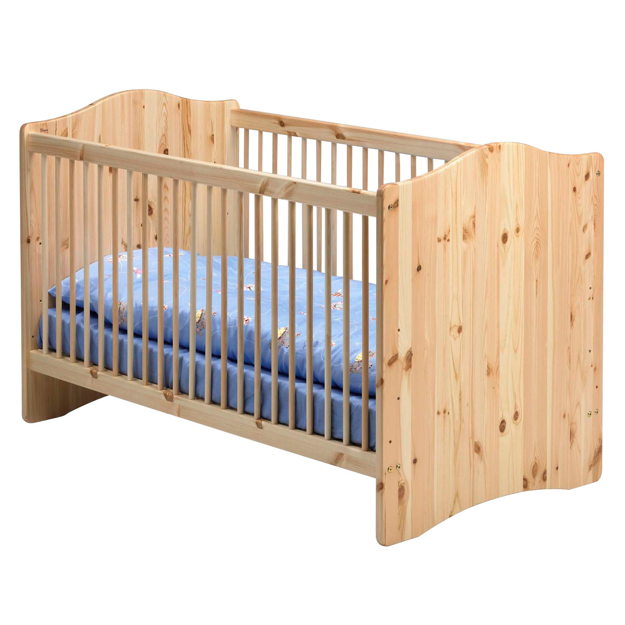 Harper Pine Nursery Cot Bed