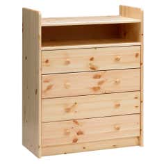 Kids Harper Pine 4 Drawer Chest