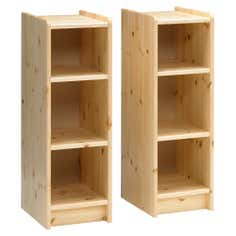 Kids Harper Pine 2 Bookshelves
