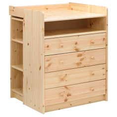 Harper Pine Nursery 4 Drawer Changing Unit