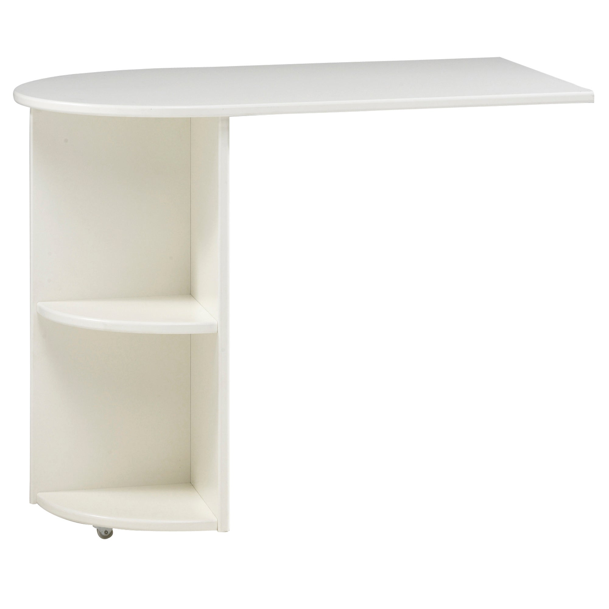 Kids Harper White Pull Out Desk