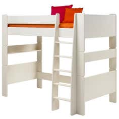 Kids Harper White High Sleeper Bed Frame
