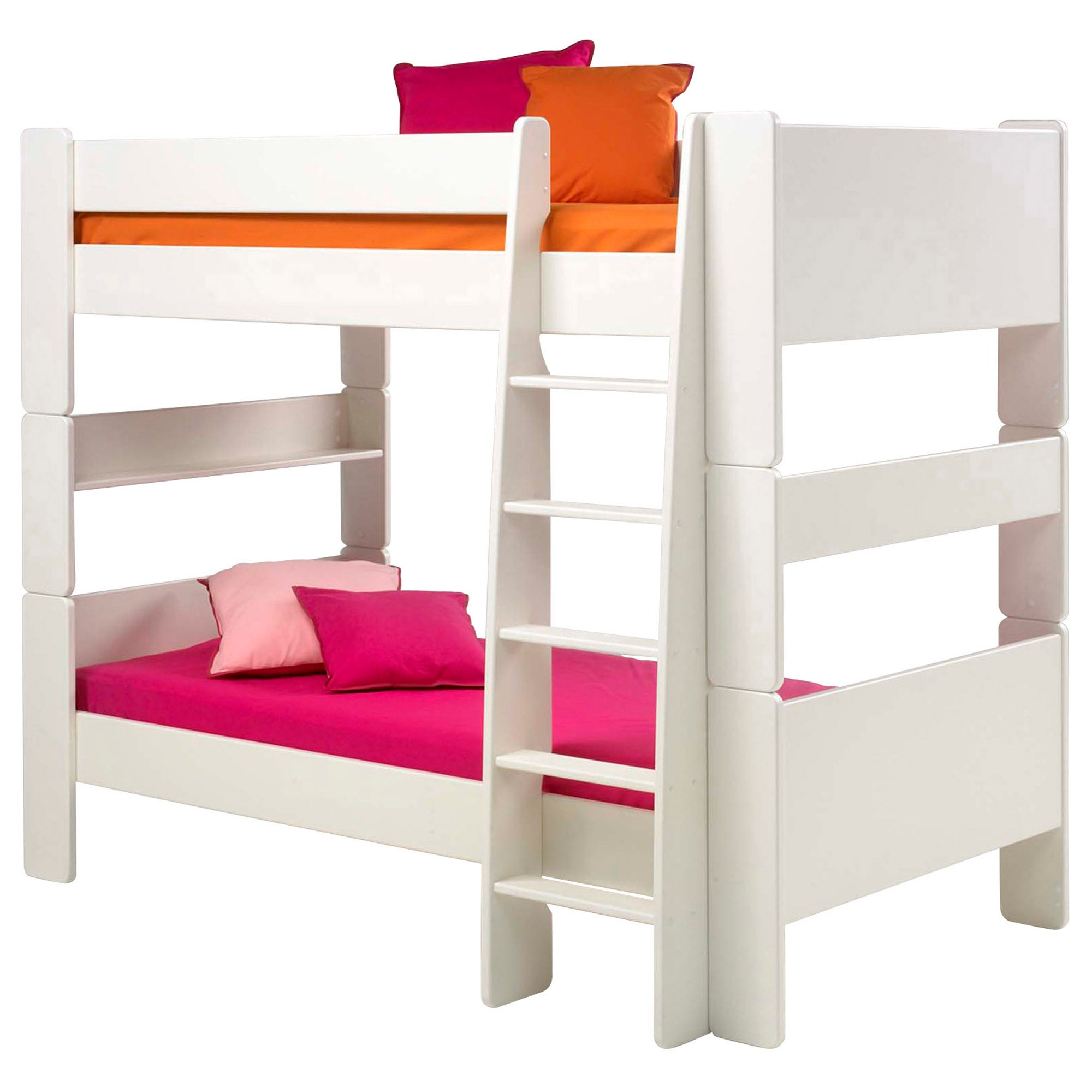 Kids Harper White Bunk Bed