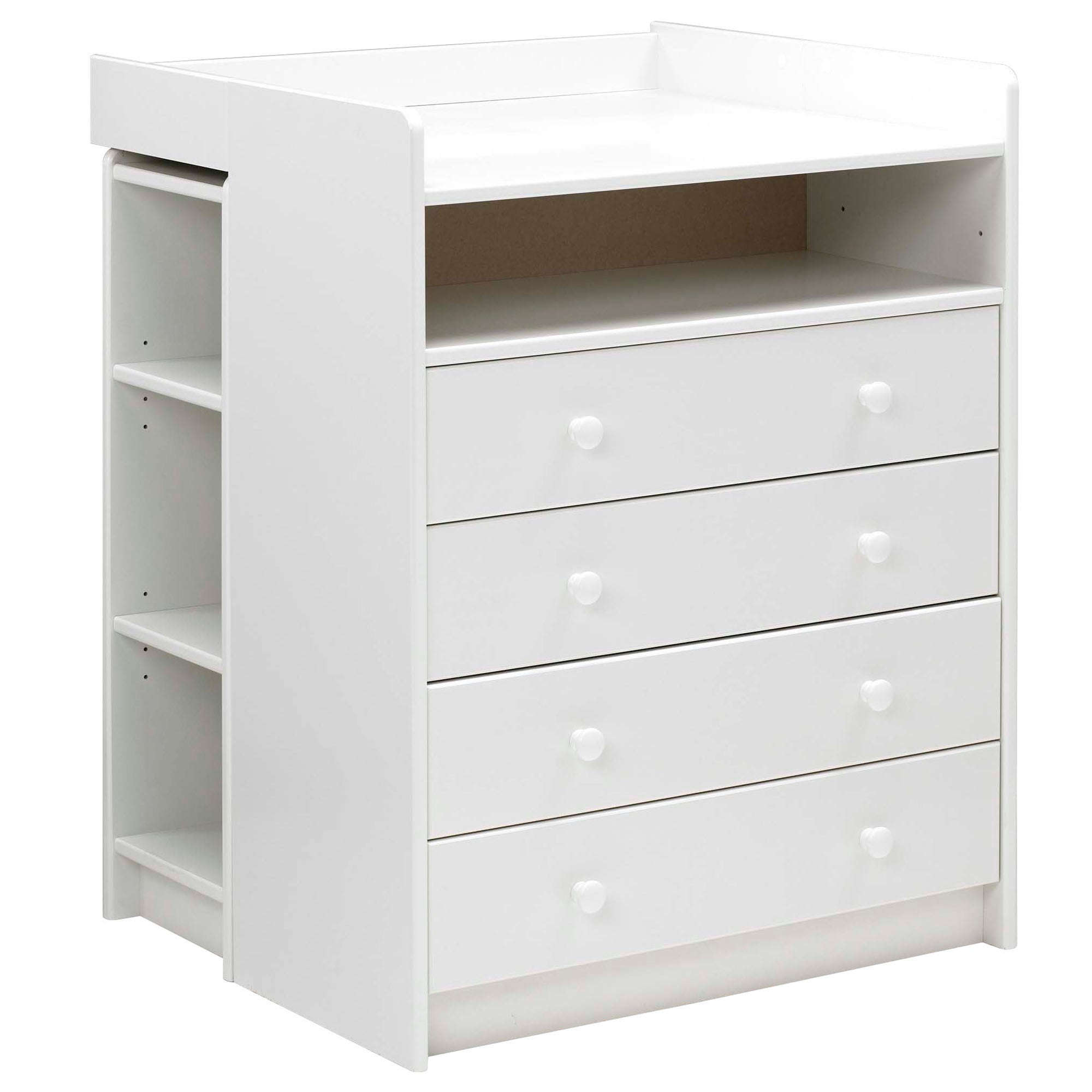 Harper White Nursery 4 Drawer Changing Unit