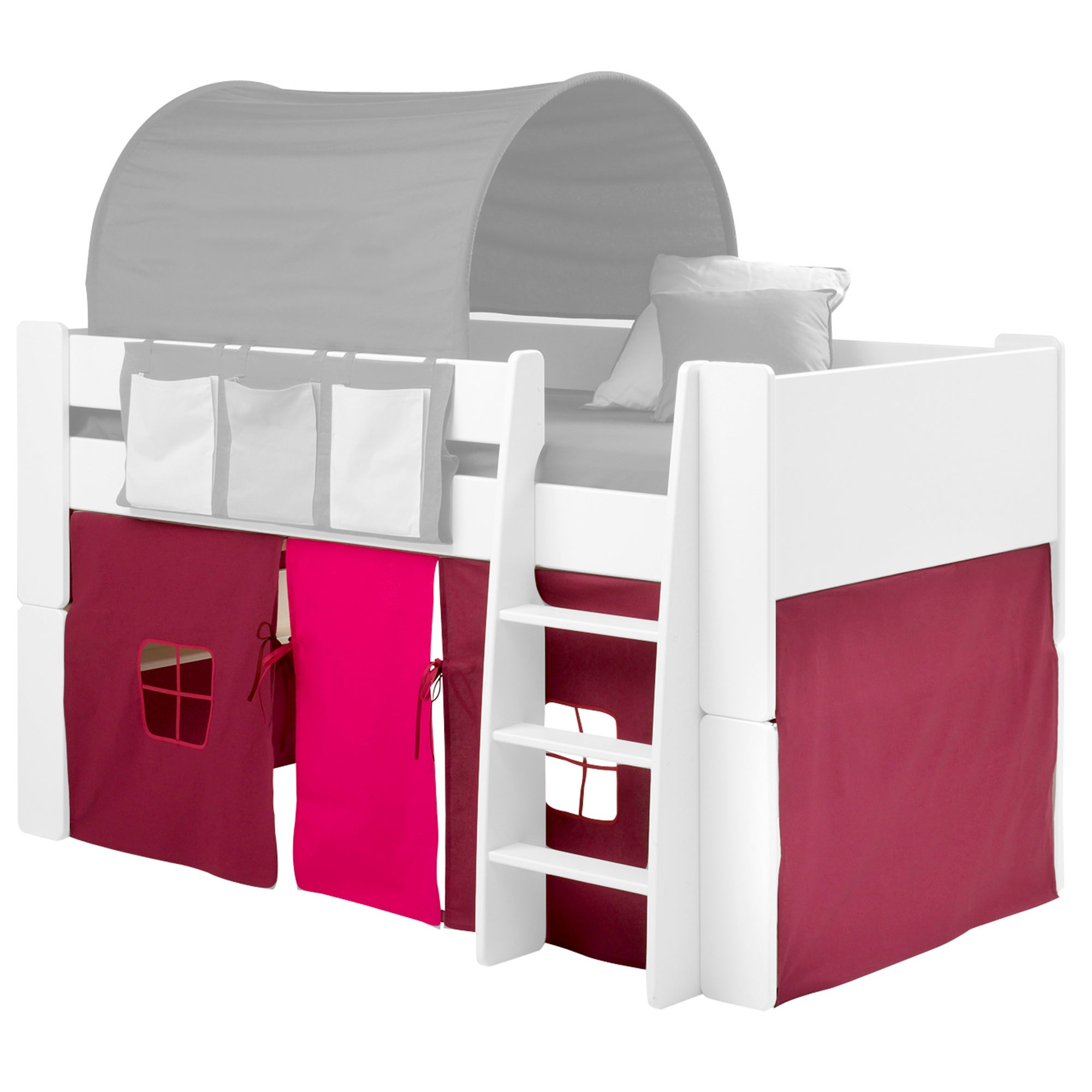 Purple Tent For Mid-Sleeper
