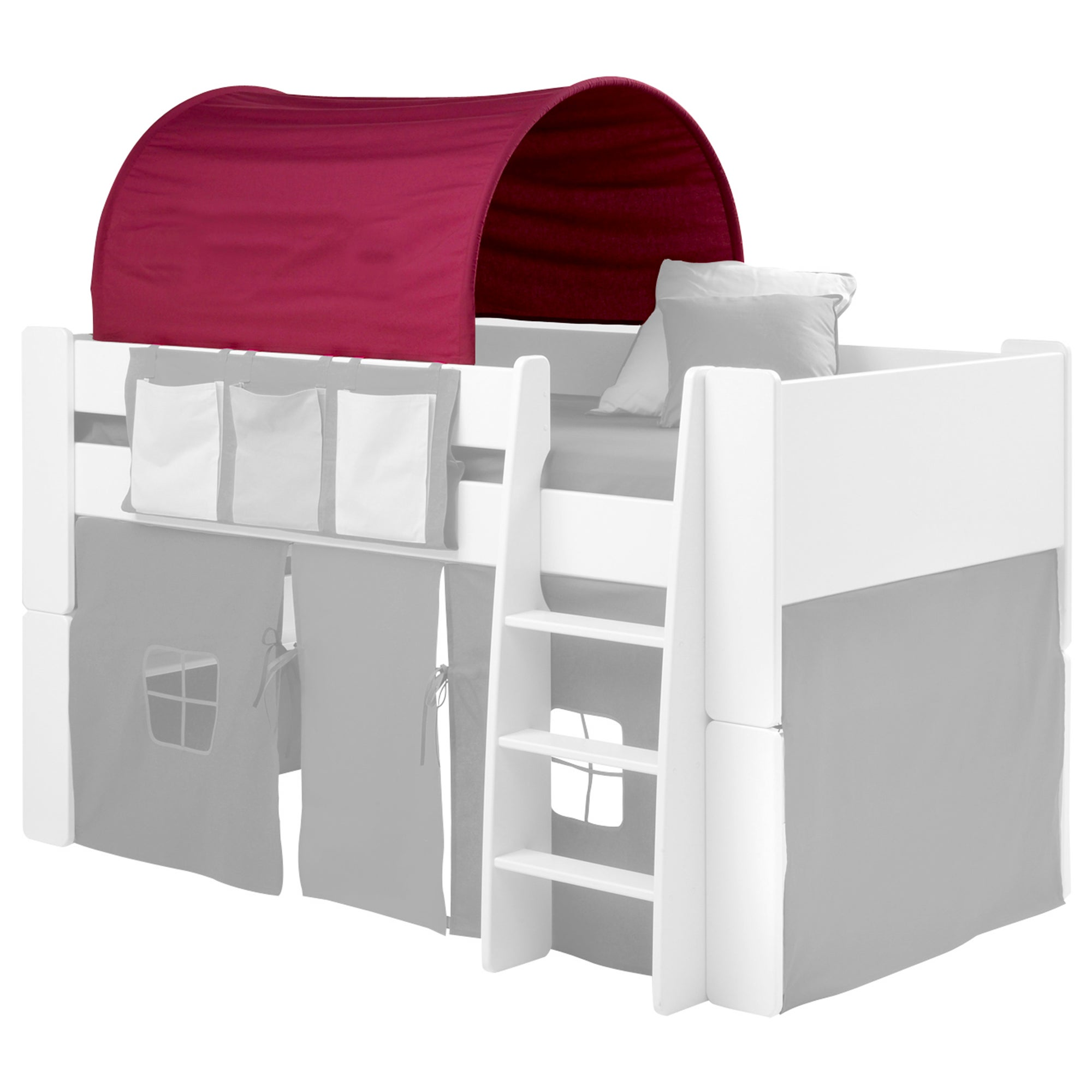 Kids Harper Pine Mid Sleeper Bedroom Collection