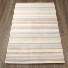 Tonal Stripe Wool Rug