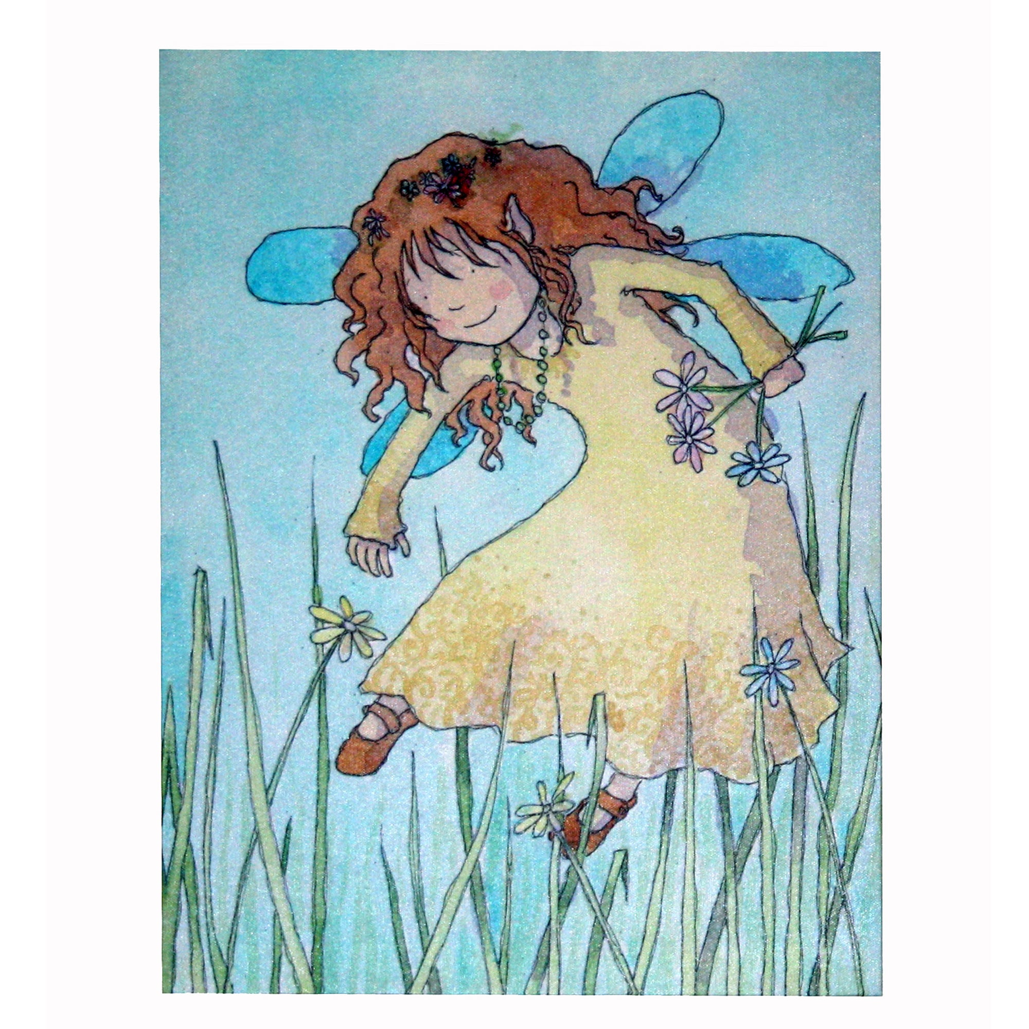 Artistic Britain Kids Flower Fairy Canvas