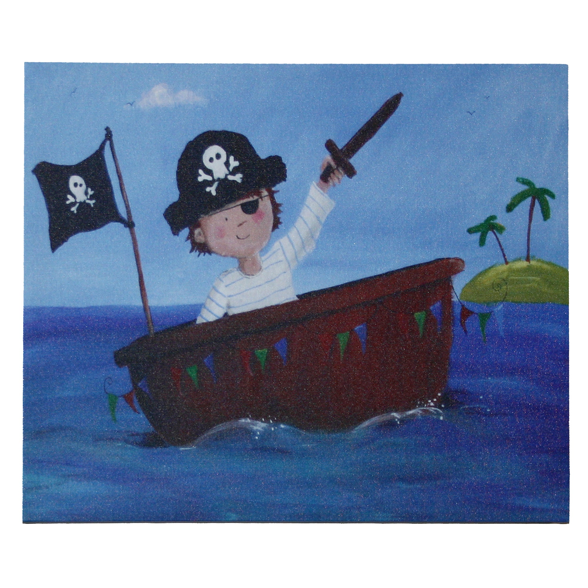 Artistic Britain Kids Pirate Canvas